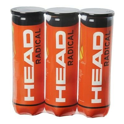 Head Radical Tennis Balls 1, 2 or 3 Tubes Available