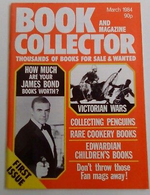 Book And Magazine Collector No. 1 Dated March 1984. Near Mint. James Bond.