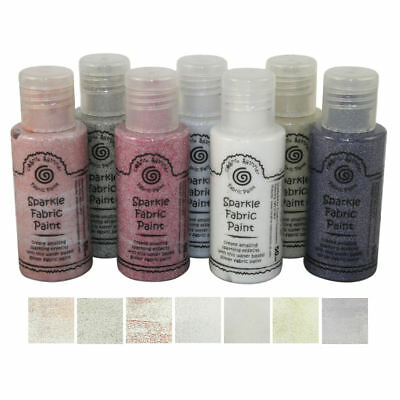 Cosmic Shimmer Sparkle Fabric Paint 50ml