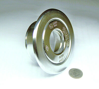 "Viking M Nos Recessed Fire Sprinkler Escutcheon Chrome W/ 3/4""npt Center Adapter"