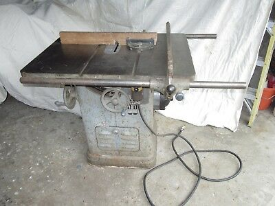 Vintage Delta Unisaw table saw early model 1940s oilboard serial # 220 V