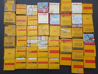 1947 thru 1960's 8mm  family home movies Lot of 47 Reels Mostly Kodak