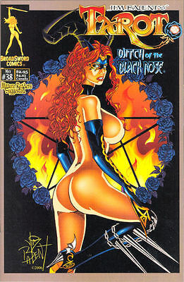 Tarot Witch of the Black Rose 38 a Broadsword Jim Balent sexy NM FREE UK POSTING