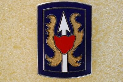 US USA Army 106th Infantry Division Military Hat Lapel Pin