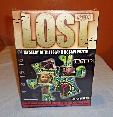 Lost TV Show Mystery of the Island Jigsaw Puzzle 2 of 4 The Others- NEW Unopened