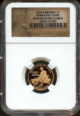 2009-S NGC PF 69 RD ULTRA CAMEO U.S. Lincoln Formative Years Cent - FX643