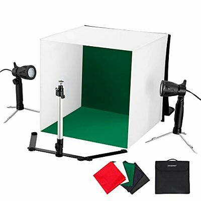 16x16 Inch/ 42x42cm Mini Portable Led Photo Studio Light Cube Tent Kit Table Top