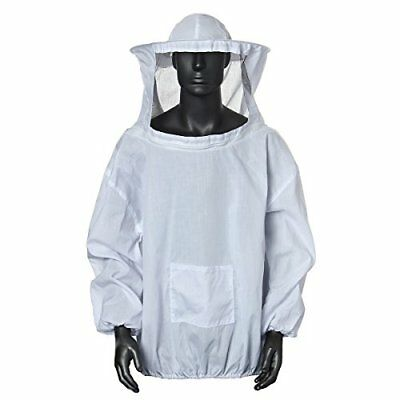 Bee Suit,protective Beekeeping Veil Smock Beekeeper Suit Coat Jacket Equipment W