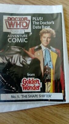 Doctor Who Golden Wonder Comic