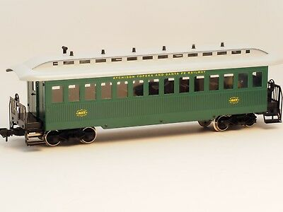 54731 Marklin Scale 1 Old Era USA AT&SF Passenger Car in METAL for Outdoor use