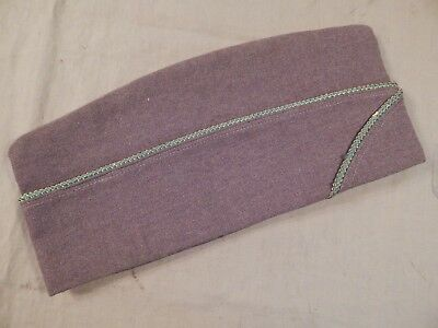 WWII U.S. Army Enlisted Man's Garrison Cap, MILITARY POLICE Piping, Size 7 1/4