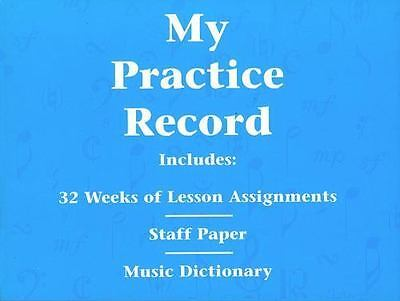 My Practice Record - Hal Leonard Student Piano Library 296046
