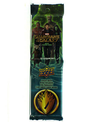 2014 Upper Deck Guardians Of The Galaxy Trading Cards 30-Card Jumbo Rack Pack