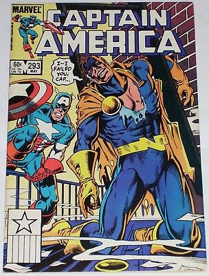 Captain America #293 from May 1984 F to F/VF Nomad