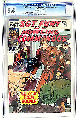 Sgt. Fury and His Howling Commandos # 68 CGC 9.4