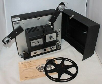 Vintage BELL & HOWELL Autoload Super 8MM Film Movie Projector 476P TESTED