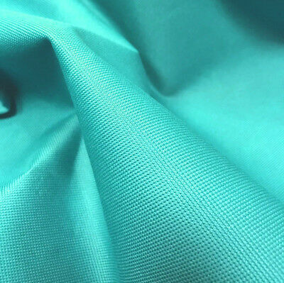 Sea Green Heavy Duty Waterproof Canvas Fabric 600D Outdoor Cover Sold By Metre