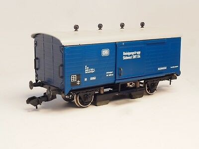 Marklin Gauge1 TRACK CLEANER Box car in METAL Outdoor use, scale 1:32