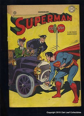 Superman 46 DC Comic Book 1947 Fair to Good - (complete!)