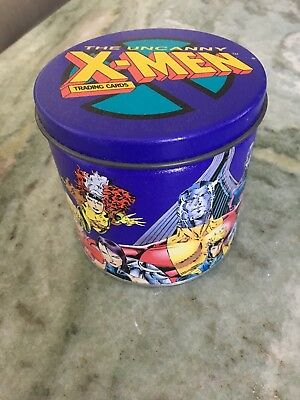 Uncanny X-men Trading Cards 1992 Tin Can Jim Lee Art 100 Cards +4 gold foil Mint