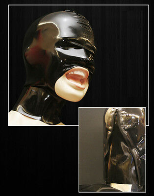 """----- LATEXTIL ----- Latexmaske """"OpenMouth"""" LATEXTIL mask rubber NEW"""