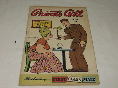 "Vintage Private Bill Comic Book - No. 4 Harry ""a"" Chesler Jr. Features Syndicate"
