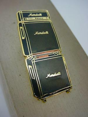 Werbung Marshall Amplification Stacked Amps Emaille Anstecknadel