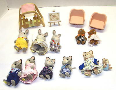 Lot of Calico Critters Animals & Accessories