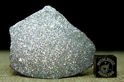 NWA 4411 H6 Meteorite from Morocco 2006 Hupe Collection 16.2 gram complete slice