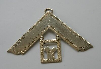 Masonic Silver Past Masters Collar Jewel- Royal Commemoration Lodge