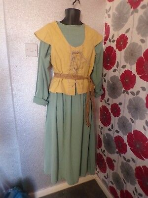 Quality Hand Finished Peasent  Style Unisex 3 Piece Outfit Size L