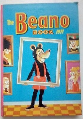 Beano Book 1971. Very Good Condition. Price Clipped.