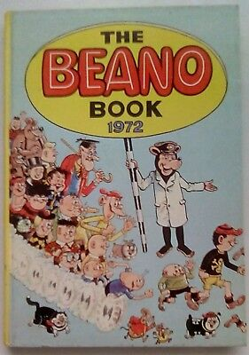 Beano Book 1972. Very Good Condition. Price Not Clipped.