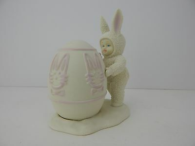 Dept 56 Snowbunnies I'll Color The Easter Egg #26212 Retired Perfect for Easter!