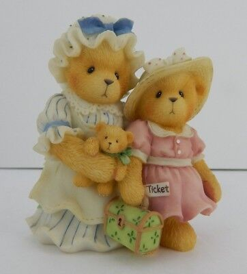 Enesco Cherished Teddies Every Journey Begins With One Step #601578 First Trip