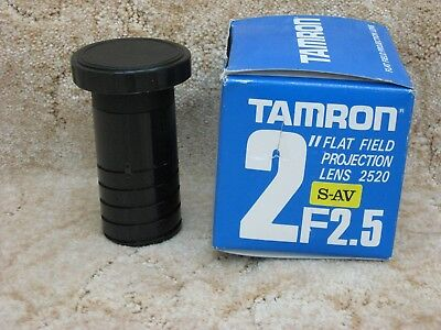 """Tamron Pro 2"""" Flat Field Projection Lens"""