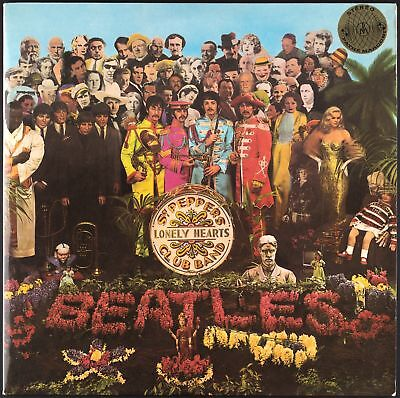THE BEATLES - Sgt. Pepper's Lonely Hearts Club Band - 1967 France LP Stereo