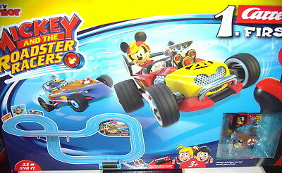 """Carrera 20063013 1.FIRST """"Mickey and the Roadster Racers""""  Rennbahn"""