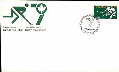 CANADA 1. Day of Issue Cover Brief FDC Stempel OTTAWA 1979 Hockey Championship
