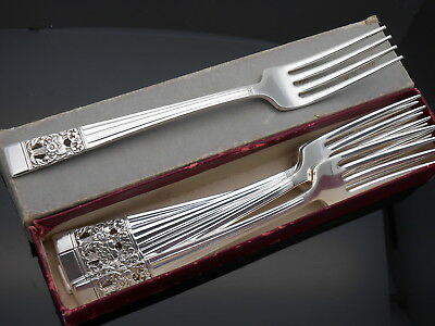 Community Hampton Court / Coronation Boxed Dinner Table Forks - Vintage