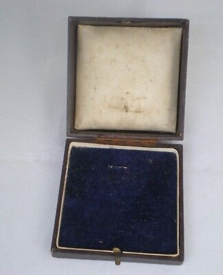 Antique Vintage  Box Display Case For Item Of Jewellery Or Silver