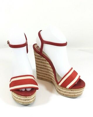 4f13f9a3d985 GUCCI WEDGE SANDALS size 38 -  275.00