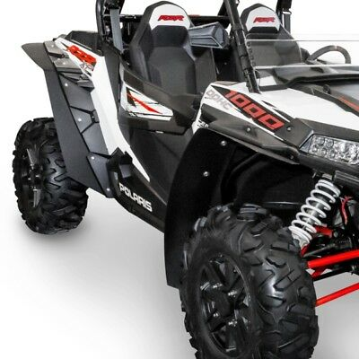 New 2014 2018 Polaris Utv Rzr Xp 1000 Only Fender Flares  Mud Guards Black Turbo