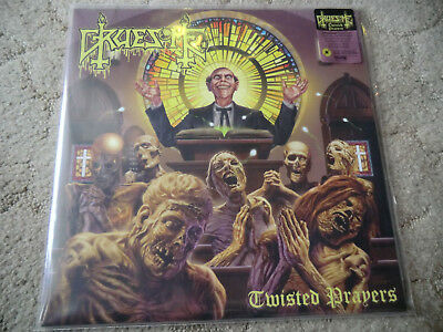 Gruesome-Twisted Prayers,YELLOW VINYL,Death,Cannibal Corpse,Obituary