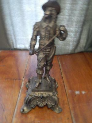 Large,Three Musketeers Figure, 13.5 Inches, Spelter, or Metal, Clock Topper ?
