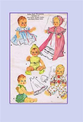 """Brown House Doll Easy Sew Designs BHD143 10""""-10.5"""" Pattern"""