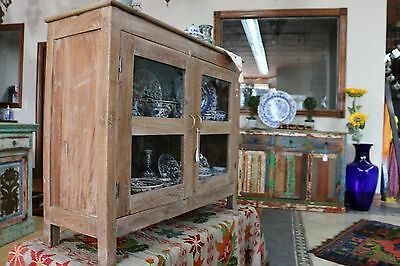 Rustic Bedside Cabinet TV Stand Indian Cabinet, sideboard kitchen island.