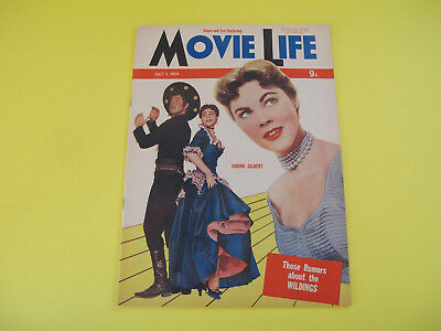 Joanne Gilbert on Front Cover 1954 Movie Life Magazine