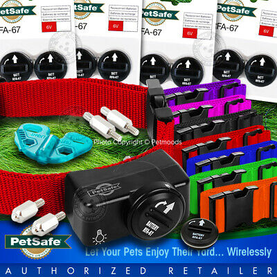 PetSafe PIF-275-19 Collar Wireless Dog Fence FREE Color Strap MADE USA, 9 RFA-67