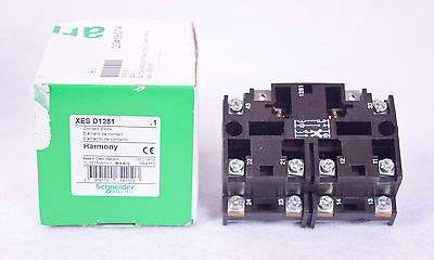 SCHNEIDER Electric XES D1281 Contact Block Harmony